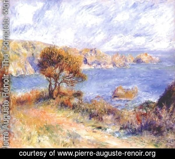 Pierre Auguste Renoir - View at guernsey
