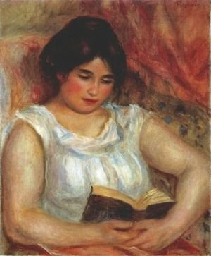 Pierre Auguste Renoir - Gabrielle reading