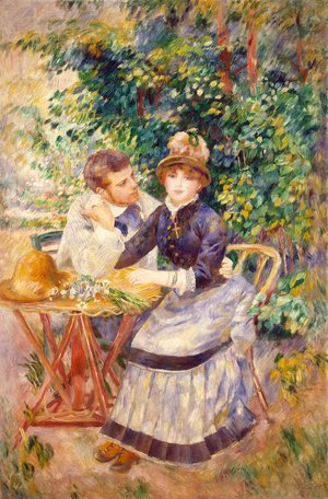 Pierre Auguste Renoir - In the Garden