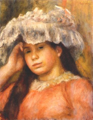 Young Woman Wearing a Hat 2