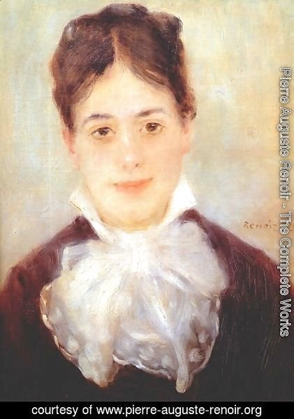 Pierre Auguste Renoir - A Young Woman