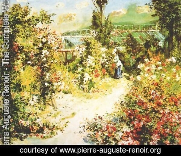 Pierre Auguste Renoir - The greenhouse