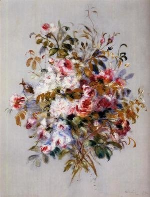 Pierre Auguste Renoir - A Bouquet Of Roses