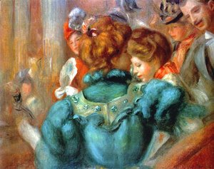 Pierre Auguste Renoir - A Box In The Theater Des Varietes