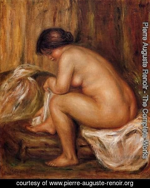 Pierre Auguste Renoir - After Bathing