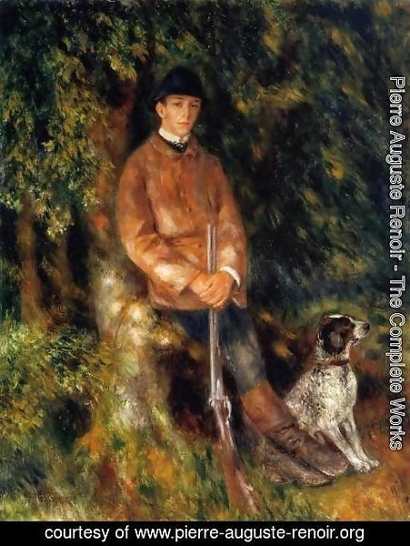 Pierre Auguste Renoir - Alfred Berard And His Dog
