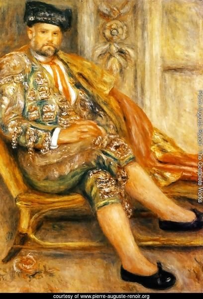 Ambroise Vollard Dressed As A Toreador