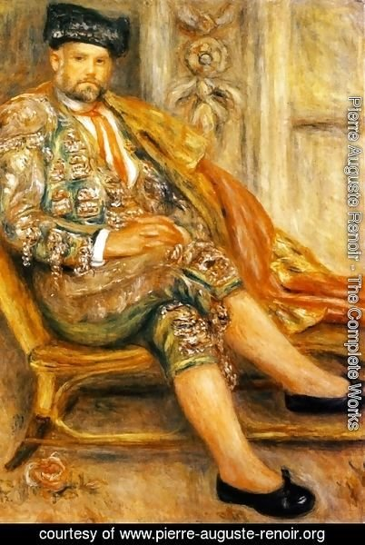 Pierre Auguste Renoir - Ambroise Vollard Dressed As A Toreador