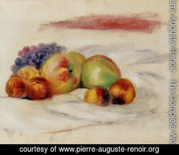 Pierre Auguste Renoir - Apples And Grapes