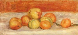 Pierre Auguste Renoir - Apples And Manderines