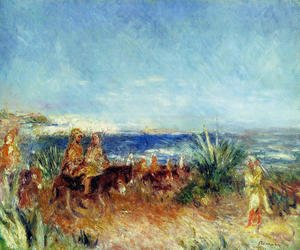Pierre Auguste Renoir - Arabs By The Sea