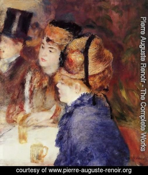 Pierre Auguste Renoir - At The Cafe