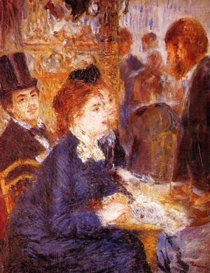 Pierre Auguste Renoir - At The Cafe2