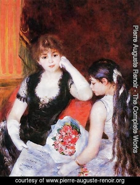 Pierre Auguste Renoir - At The Concert Aka Box At The Opera
