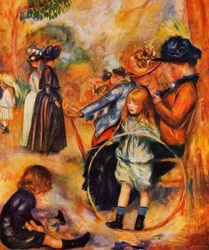 Pierre Auguste Renoir - At The Luxembourg Gardens