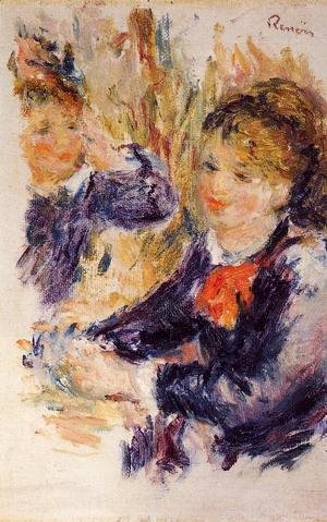 Pierre Auguste Renoir - At The Milliners (study)