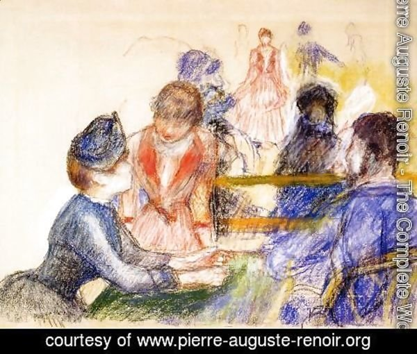 Pierre Auguste Renoir - At The Moulin De La Galette