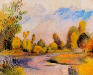 Pierre Auguste Renoir - Banks Of A River