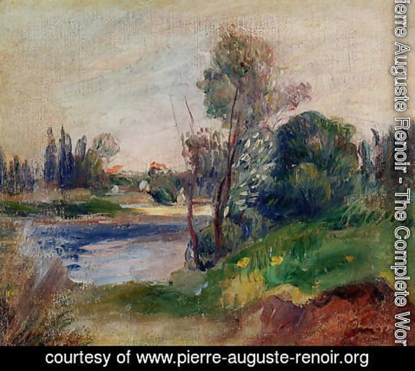 Pierre Auguste Renoir - Banks Of The River