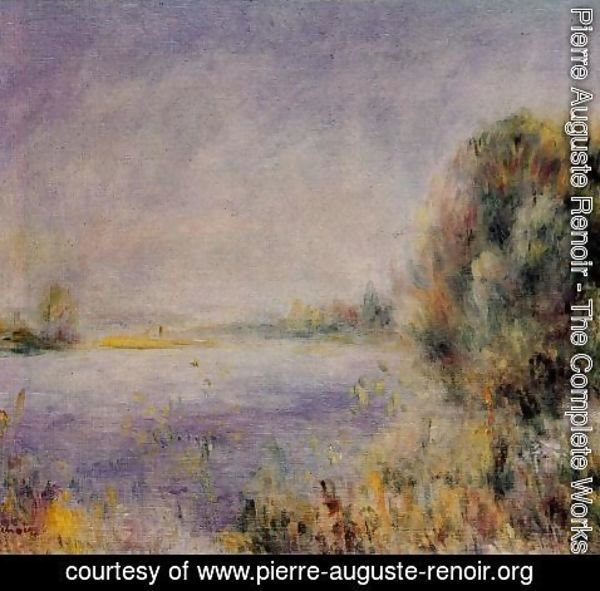 Pierre Auguste Renoir - Banks Of The River 2