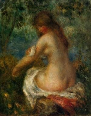Pierre Auguste Renoir - Bather