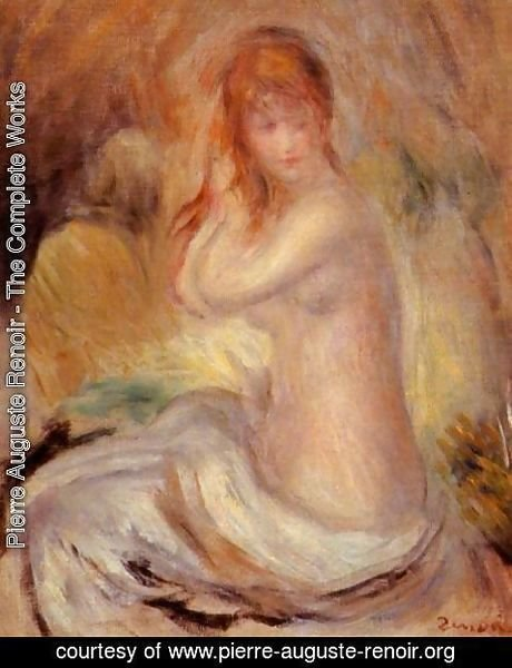 Pierre Auguste Renoir - Bather2
