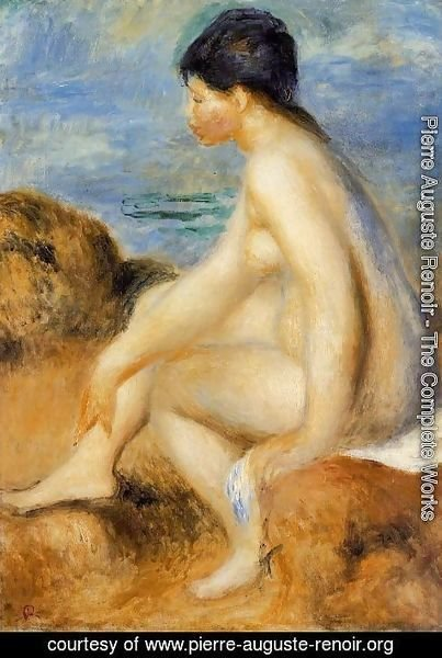 Pierre Auguste Renoir - Bather3