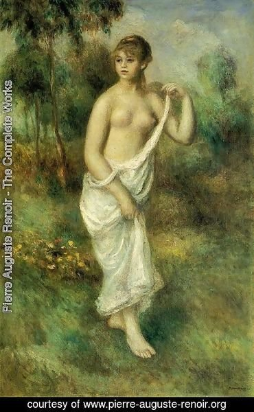 Pierre Auguste Renoir - Bather5