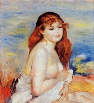 Pierre Auguste Renoir - Bather 4