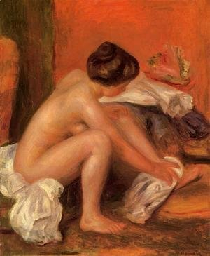 Pierre Auguste Renoir - Bather Drying Her Feet