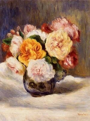 Pierre Auguste Renoir - Bouquet Of Roses2
