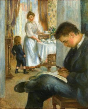 Pierre Auguste Renoir - Breakfast At Berneval