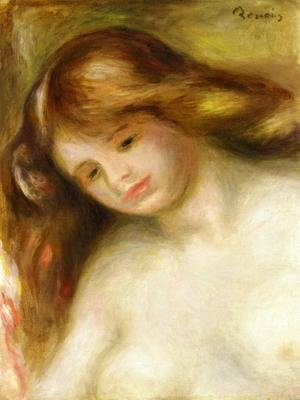 Pierre Auguste Renoir - Bust Of A Young Nude