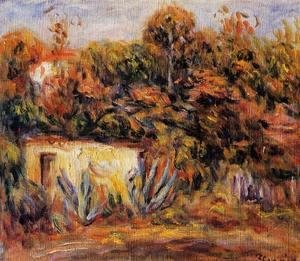 Pierre Auguste Renoir - Cabin With Aloe Plants