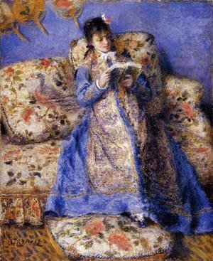 Pierre Auguste Renoir - Camille Monet Reading