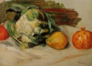 Pierre Auguste Renoir - Cauliflower And Pomegranates