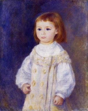 Pierre Auguste Renoir - Child In A White Dress Aka Lucie Berard