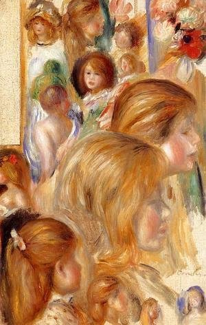 Pierre Auguste Renoir - Childrens Heads