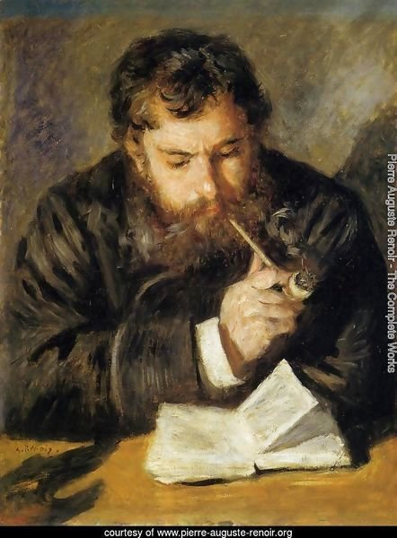 Claude Monet Aka The Reader