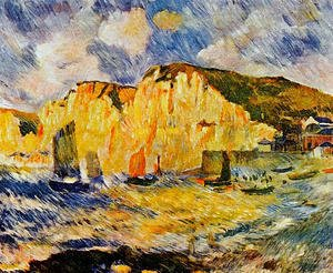 Pierre Auguste Renoir - Cliffs