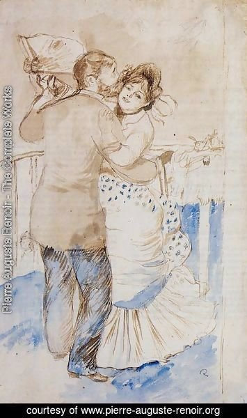 Pierre Auguste Renoir - Country Dance (study)