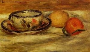 Pierre Auguste Renoir - Cup  Lemon And Tomato