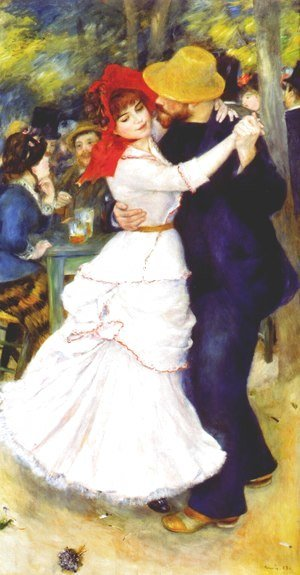 Pierre Auguste Renoir - Dance At Bougival