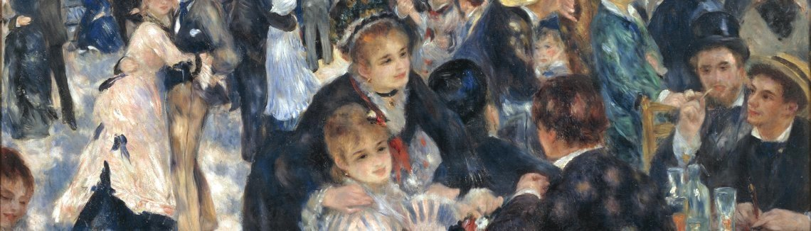 Pierre Auguste Renoir - Dance At The Moulin De La Galette