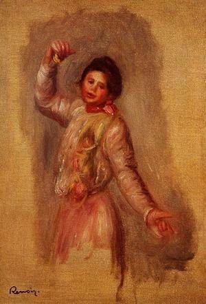 Pierre Auguste Renoir - Dancer With Castenets