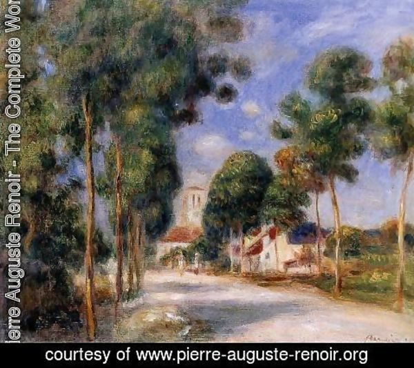Pierre Auguste Renoir - Entering The Village Of Essoyes