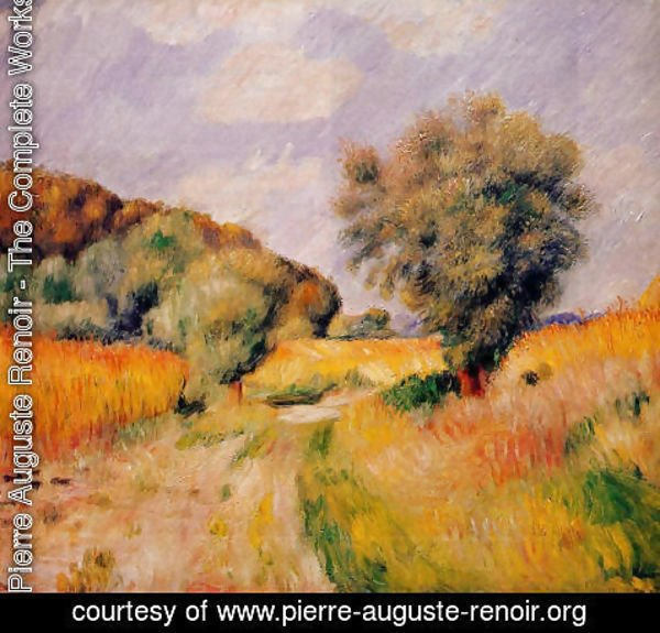 Pierre Auguste Renoir - Fields Of Wheat