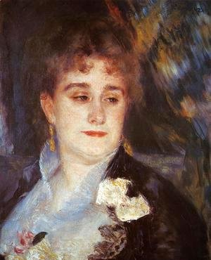 Pierre Auguste Renoir - First Portrait Of Madame Georges Charpeitier