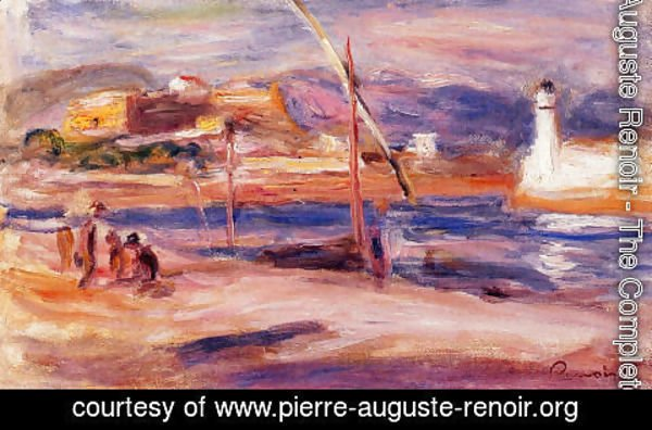 Pierre Auguste Renoir - Fort Carre Et Phare D Antibes