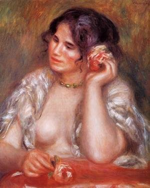 Pierre Auguste Renoir - Gabrielle With A Rose